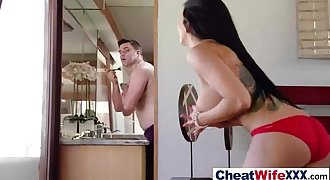 SexTape With Cheating Adultery Horny Mature Lady (romi rain) vid-24