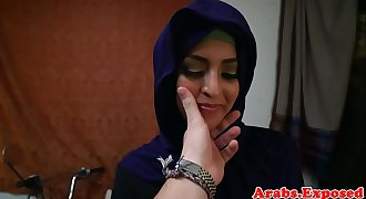 Arab honey throathed and fucked balls deep