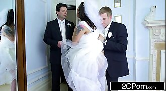 Busty Hungarian Bride-to-be Simony Diamond Fucks Her Husband's Best Man