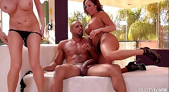 Big-titted Milfs Richelle Ryan & Dayton Rains Fucked Hard