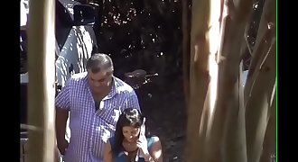 Latina Getting Fucked For Money In Public